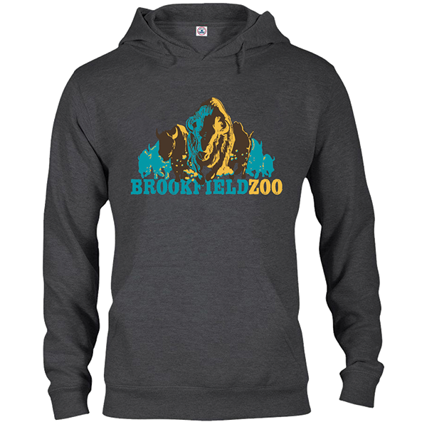 ADULT BISON HOODY