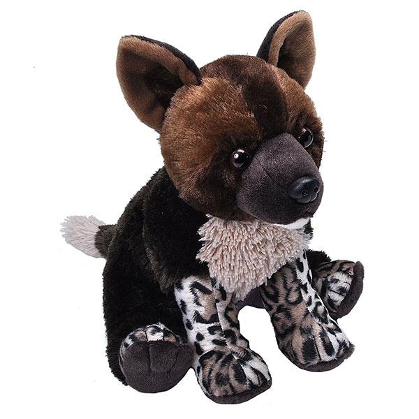 """AFRICA WILD DOG PUP- 12"""""""