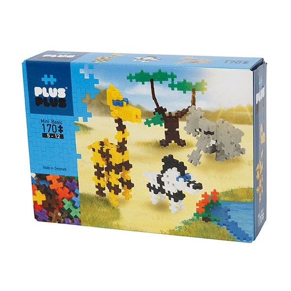 PLUS PLUS SAFARI SET 170 PIECES