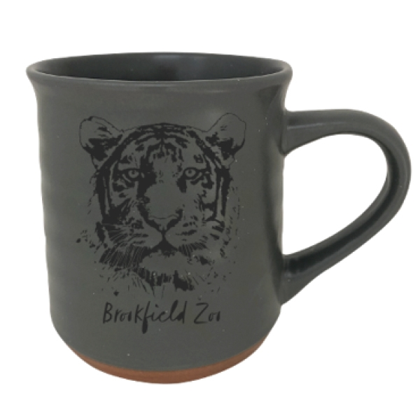 TERRACOTTA GREY TIGER MUG