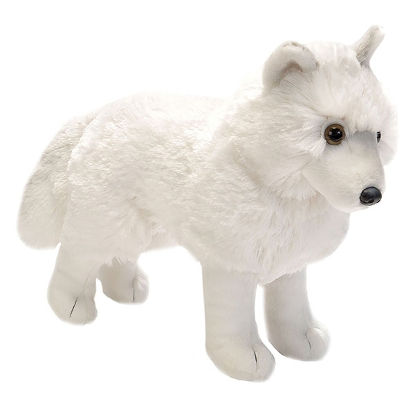 STANDING ARCTIC WOLF- 12""