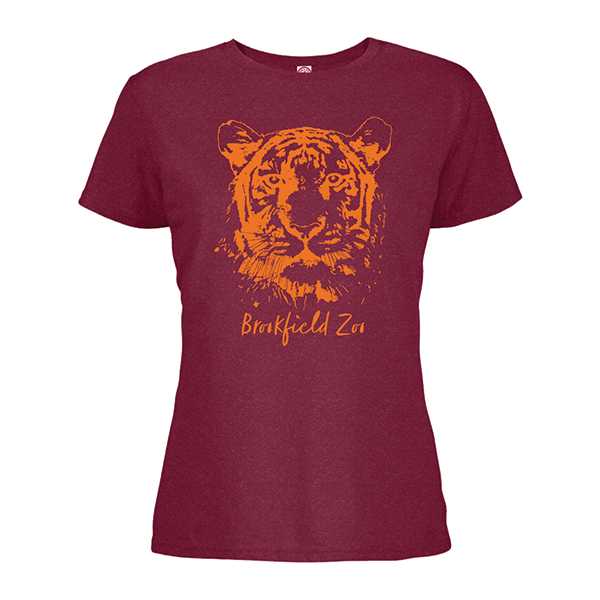 LADIES TIGER SHORT SLEEVE TEE