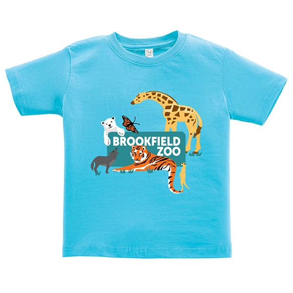 TODDLER ZOO SIGN SHORT SLEEVE TEE