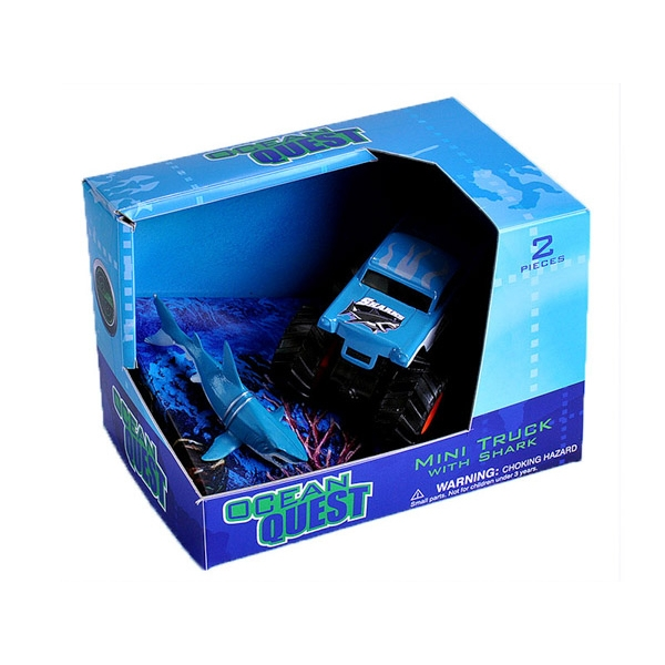 OCEAN QUEST SHARK MINI TRUCK