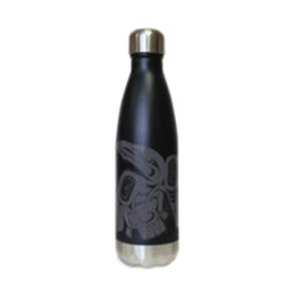 INSULATED BOTTLE WITH RAVEN DESIGN