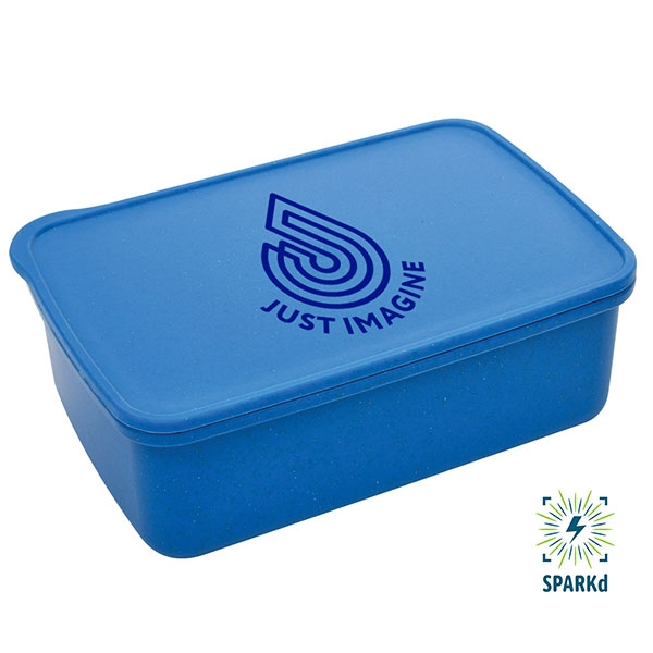 JUST IMAGINE BLUE SUSTAINABLE LUNCH SET