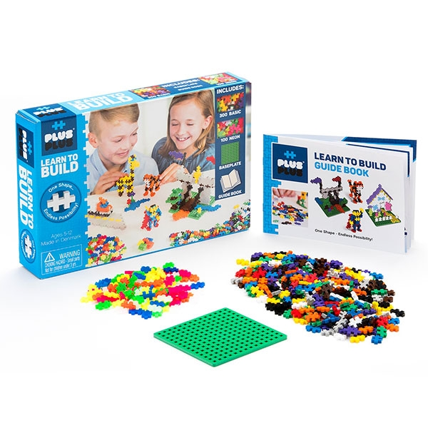 PLUS PLUS LEARN TO BUILD SET