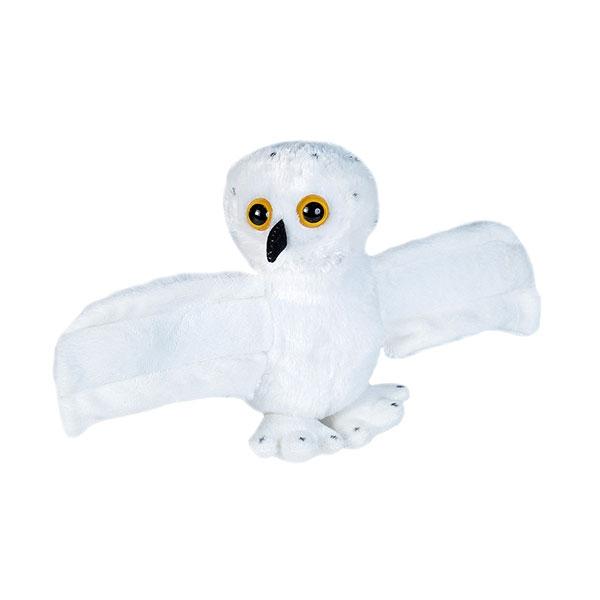 """HUGGERS SNOWY OWL- 8"""""""