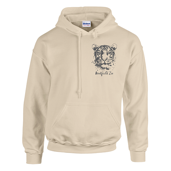 ADULT TIGER HOODY